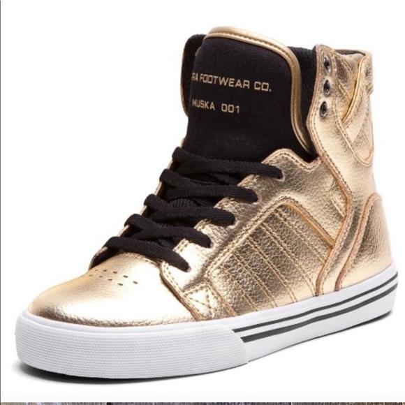 Supra Shoes   Supra Gold Skytop High